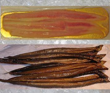 Eel - smoked